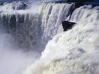 falls Iguazu waterfalls